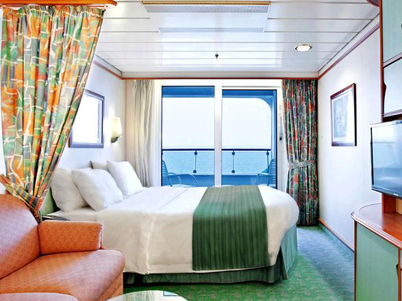 Photo cabine Mariner of the seas  - Cabine avec balcon
