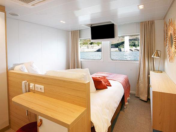 photo cabine ab MS Amalia Rodrigues (ou similaire) - Cabine avec balcon