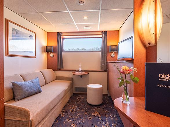 photo cabine ab MS Bijou du Rhône - Cabine avec balcon