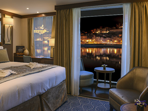 photo cabine ab MS Douro Serenity - Cabine extérieure
