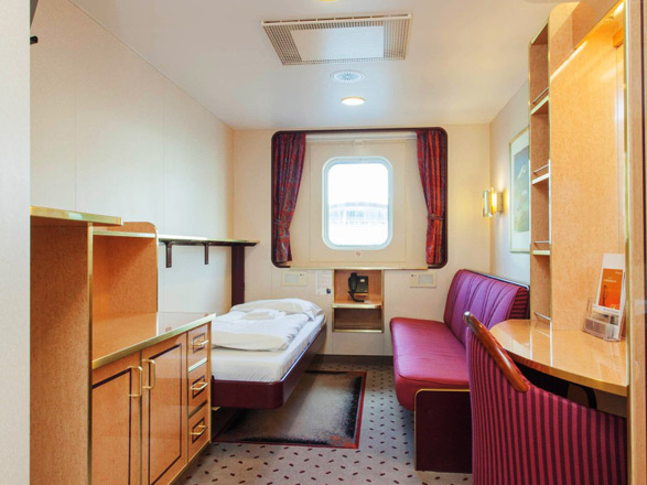 Photo cabine MS Finnmarken  - Cabine extérieure