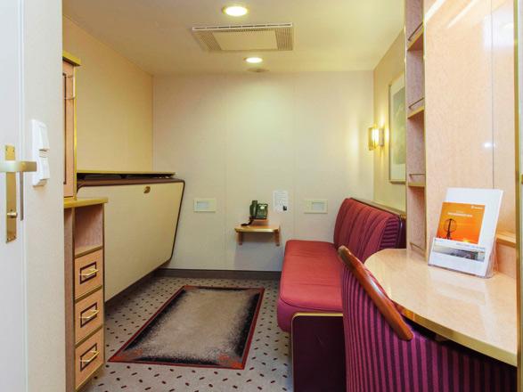 Photo cabine MS Finnmarken  - Cabine intérieure