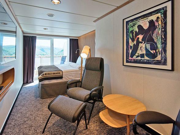 Photo cabine MS Fridtjof Nansen  - Cabine balcon
