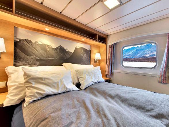 Photo cabine MS Kong Harald  - Cabine extérieure