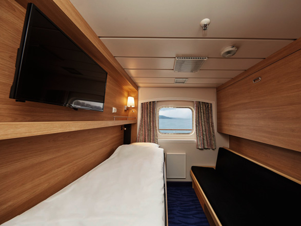 Photo cabine MS Kong Harald  - Cabine intérieure