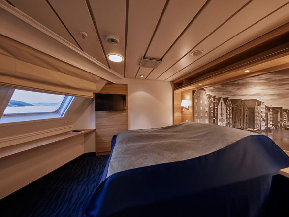 Photo cabine MS Kong Harald  - Cabine Suite