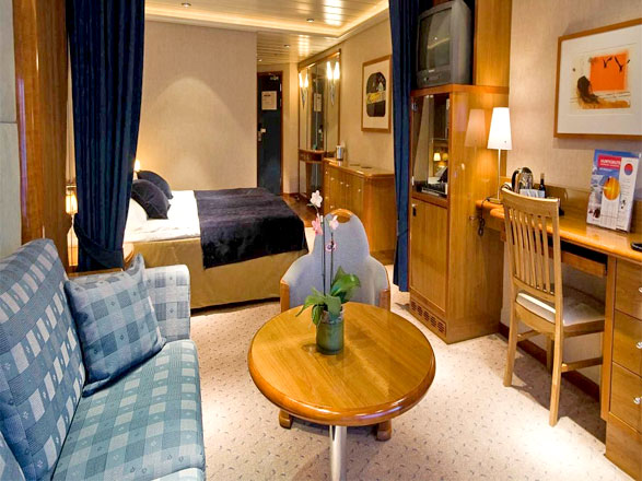 Photo cabine MS Midnatsol  - Cabine Suite