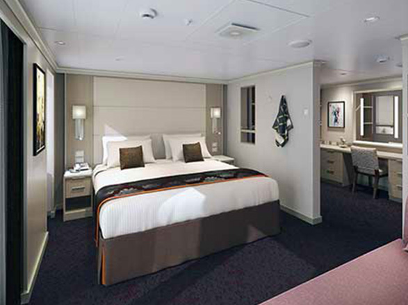 Photo cabine MS Nieuw Statendam  - Suite