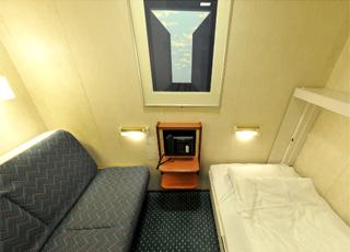 photo cabine ab MS Nordlys  - Cabine intérieure