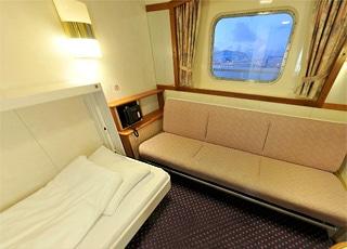 Photo cabine MS Nordlys  - Cabine extérieure