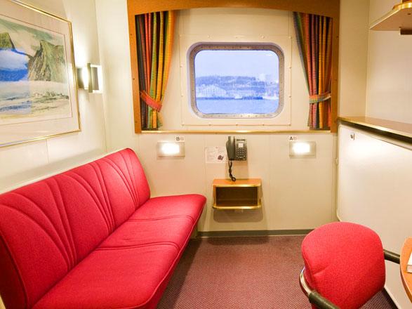 Photo cabine MS Nordnorge  - Cabine extérieure