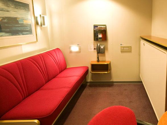 photo cabine ab MS Nordnorge  - Cabine intérieure