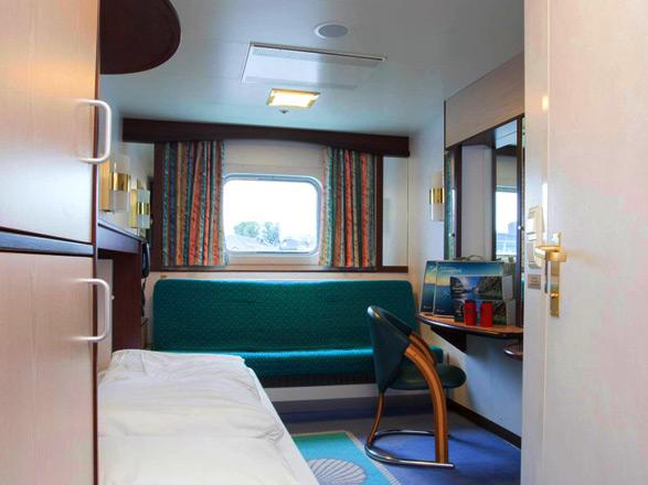 Photo cabine MS Polarlys   - Cabine extérieure
