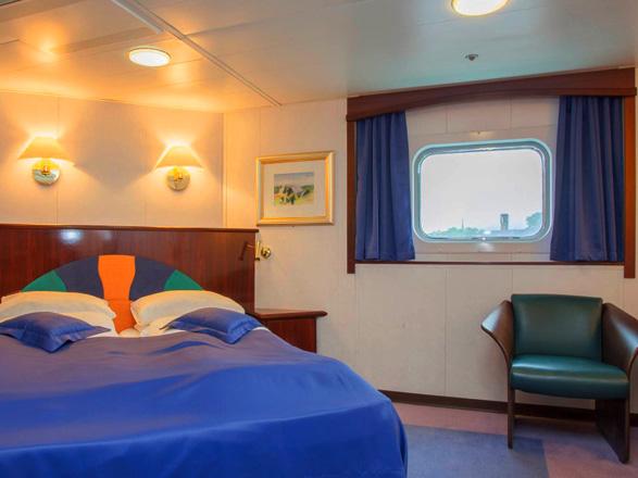 Photo cabine MS Polarlys   - Suite