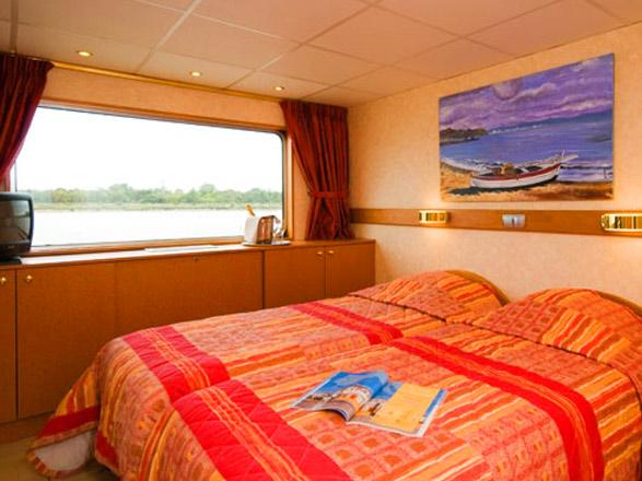 photo cabine ab MS Princesse d'Aquitaine (ou similaire) - Cabine avec balcon