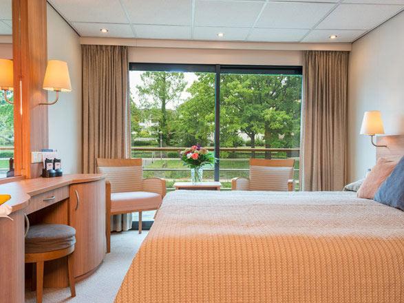 photo cabine ab MS Rhein Melodie  - Cabine avec balcon