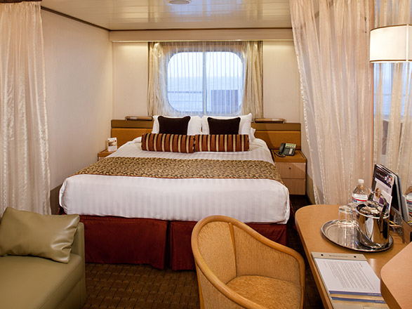 Photo cabine MS Rotterdam (ancien navire vendu)  - Cabine extérieure