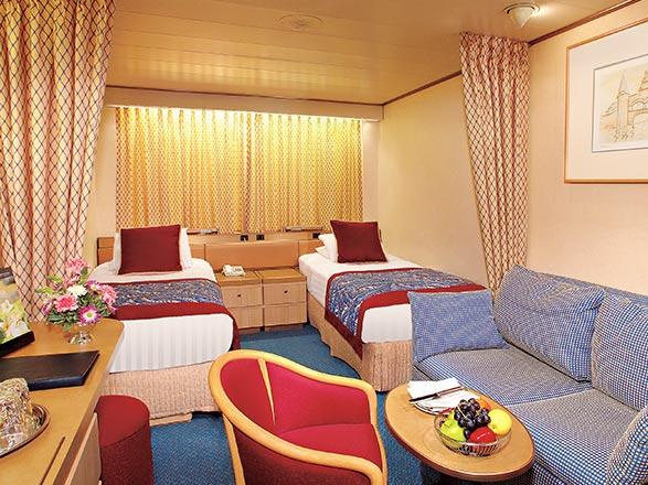 Photo cabine MS Volendam  - Cabine intérieure