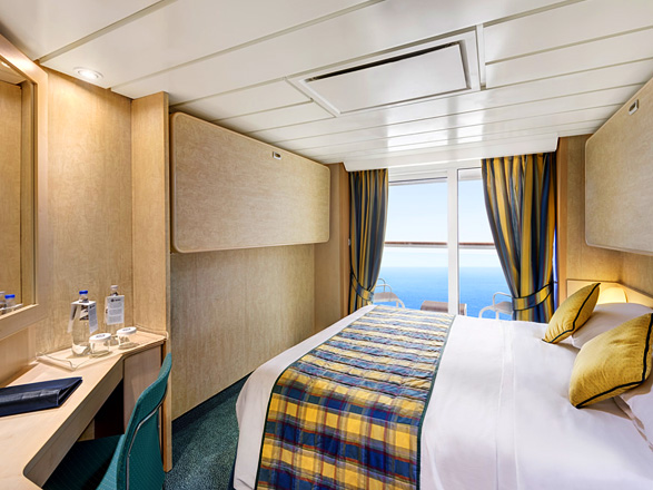 Photo cabine MSC Armonia  - Cabine avec balcon