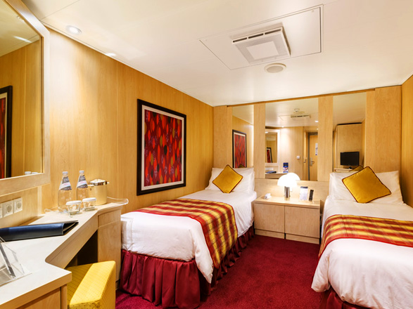 photo cabine ab MSC Armonia - Cabine intérieure