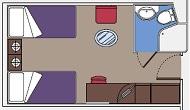 Cabine intérieure