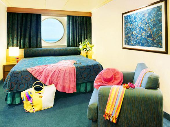 Photo cabine MSC Fantasia  - Cabine extérieure