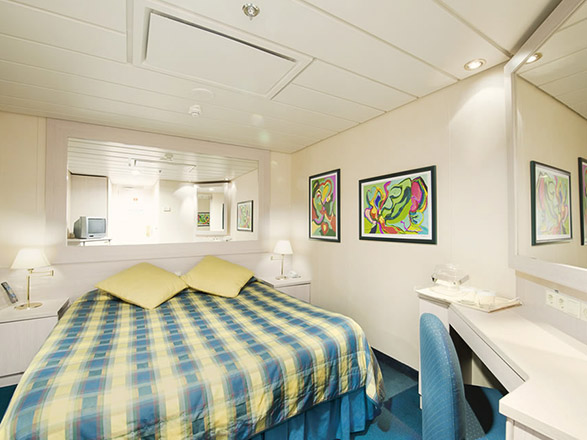 photo cabine ab MSC Lirica  - Cabine intérieure