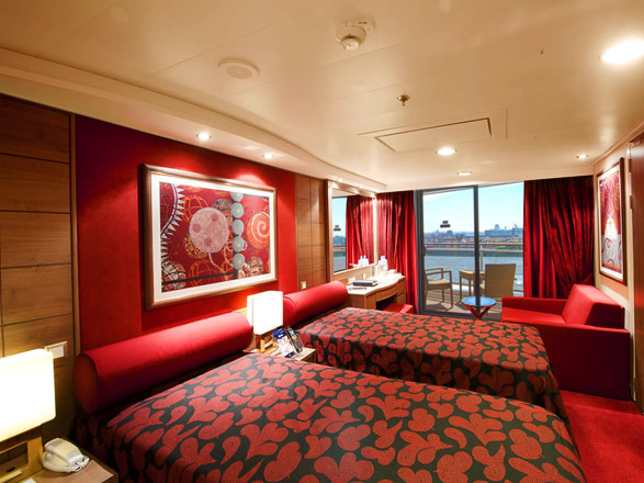 Photo cabine MSC Magnifica  - Cabine avec balcon
