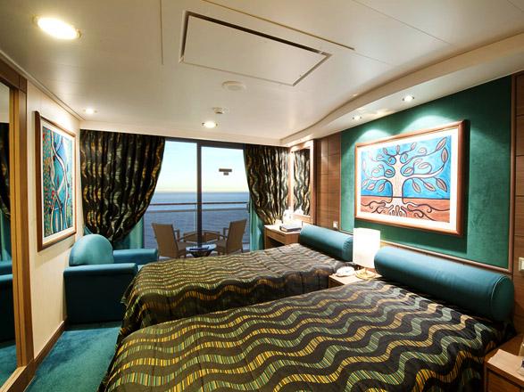 Photo cabine MSC Poesia  - Cabine avec balcon
