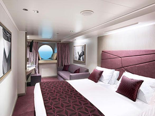 Photo cabine MSC Seaview  - Cabine extérieure