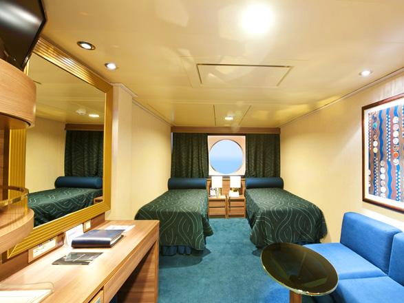 Photo cabine MSC Splendida  - Cabine extérieure