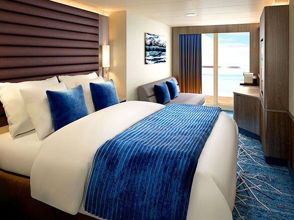 Photo cabine Norwegian Bliss  - Cabine avec balcon