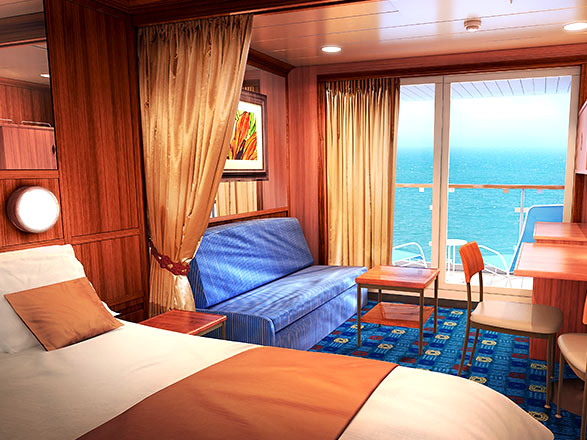 Photo cabine Norwegian Dawn  - Cabine Suite