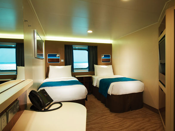 Photo cabine Norwegian Getaway  - Cabine extérieure