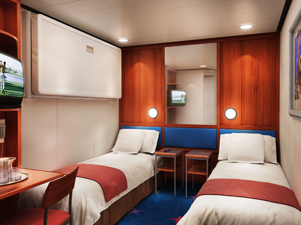 Photo cabine Norwegian Star  - Cabine intérieure