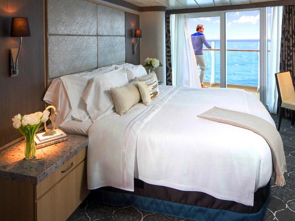 Photo cabine Oasis of the Seas  - Cabine avec balcon