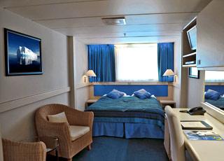 Photo cabine Ocean Diamond  - Cabine extérieure