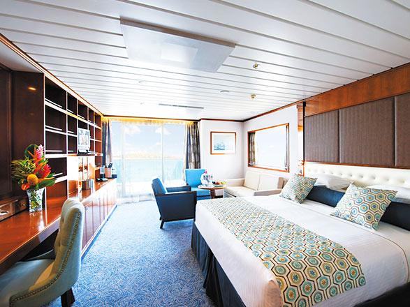 Photo cabine Paul Gauguin  - Suite