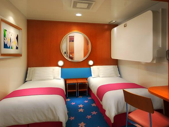 photo cabine ab Pride of America  - Cabine intérieure