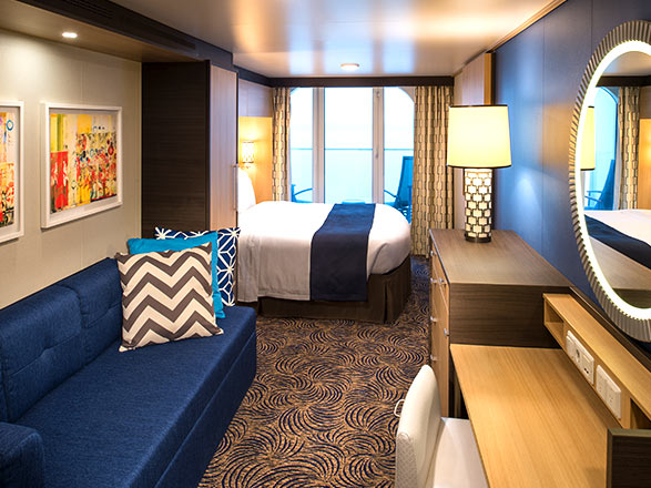 Photo cabine Quantum of the seas  - Cabine avec balcon