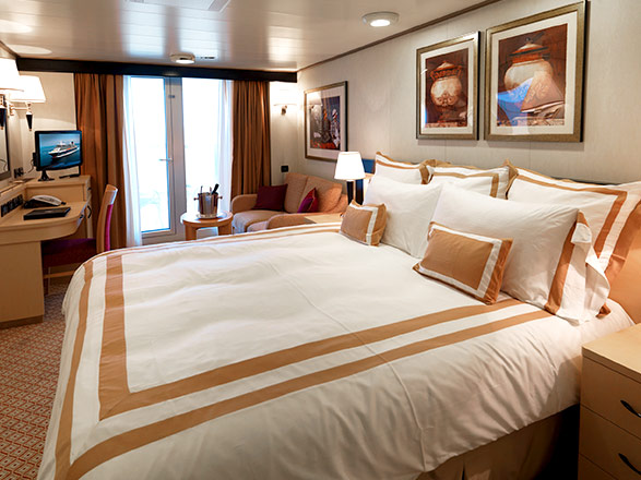 Photo cabine Queen Elizabeth  - Cabine balcon