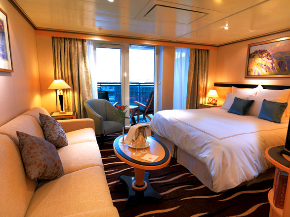 Photo cabine Queen Mary 2  - Suite