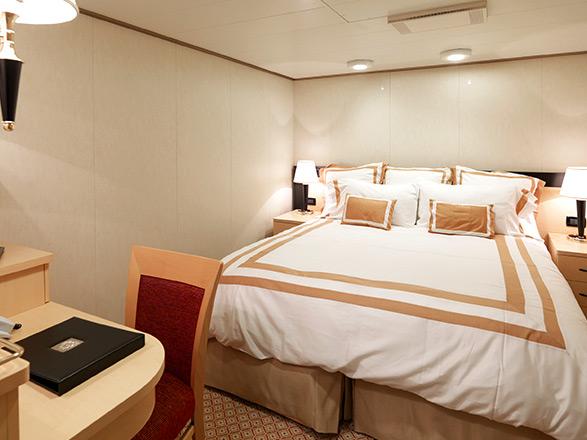 photo cabine ab Queen Victoria  - Cabine intérieure