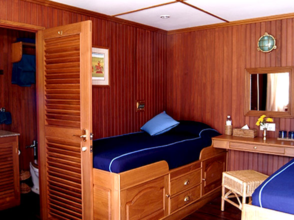 photo cabine ab R/V Indochina Pandaw (ou similaire) - Cabine avec balcon