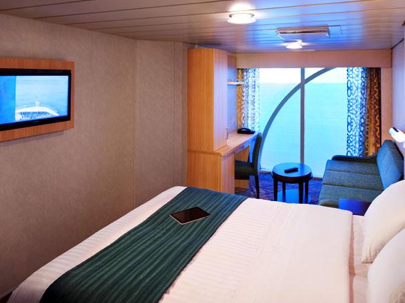 Photo cabine Rhapsody of the Seas  - Cabine extérieure