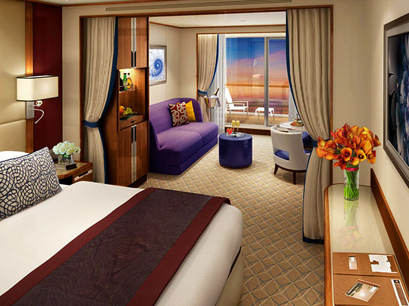 photo cabine ab Seabourn Encore  - Suite