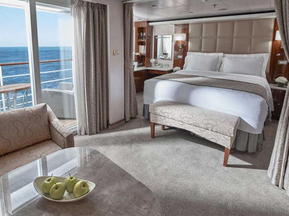 photo cabine ab Seven Seas Voyager  - Suite