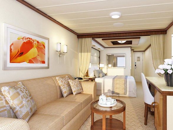Photo cabine Sky Princess  - Suite