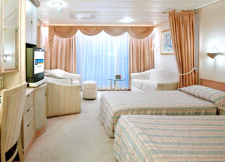 Photo cabine Splendour of the Seas  - Cabine Suite