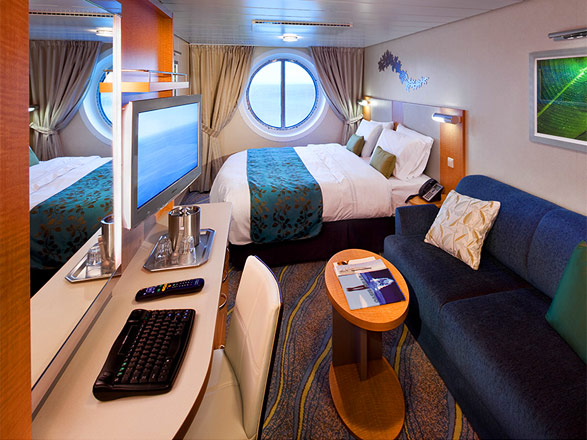 Photo cabine Symphony of the Seas  - Cabine extérieure
